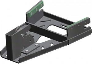 Set bloccaggio 3 Point-Lock per fissaggio carrozzina in auto